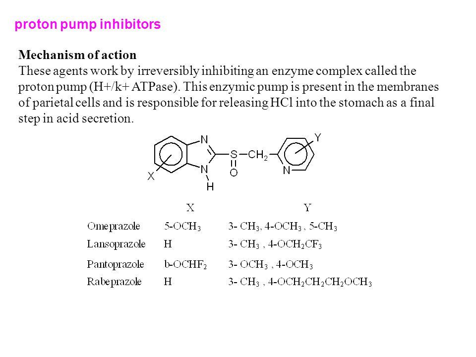 proton pump inhibitors