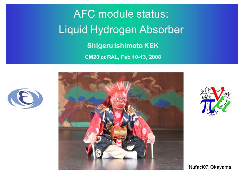 Liquid Hydrogen Absorber