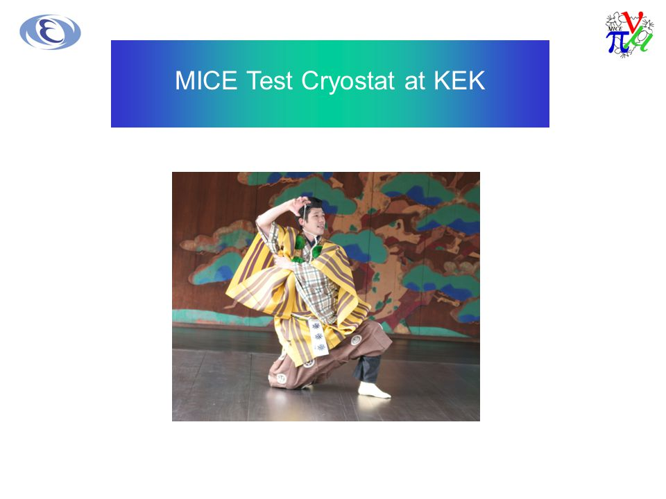 MICE Test Cryostat at KEK