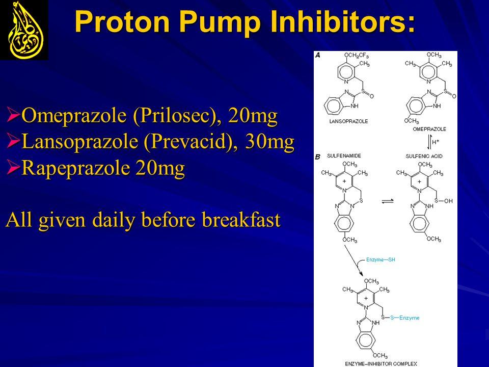 Proton Pump Inhibitors: