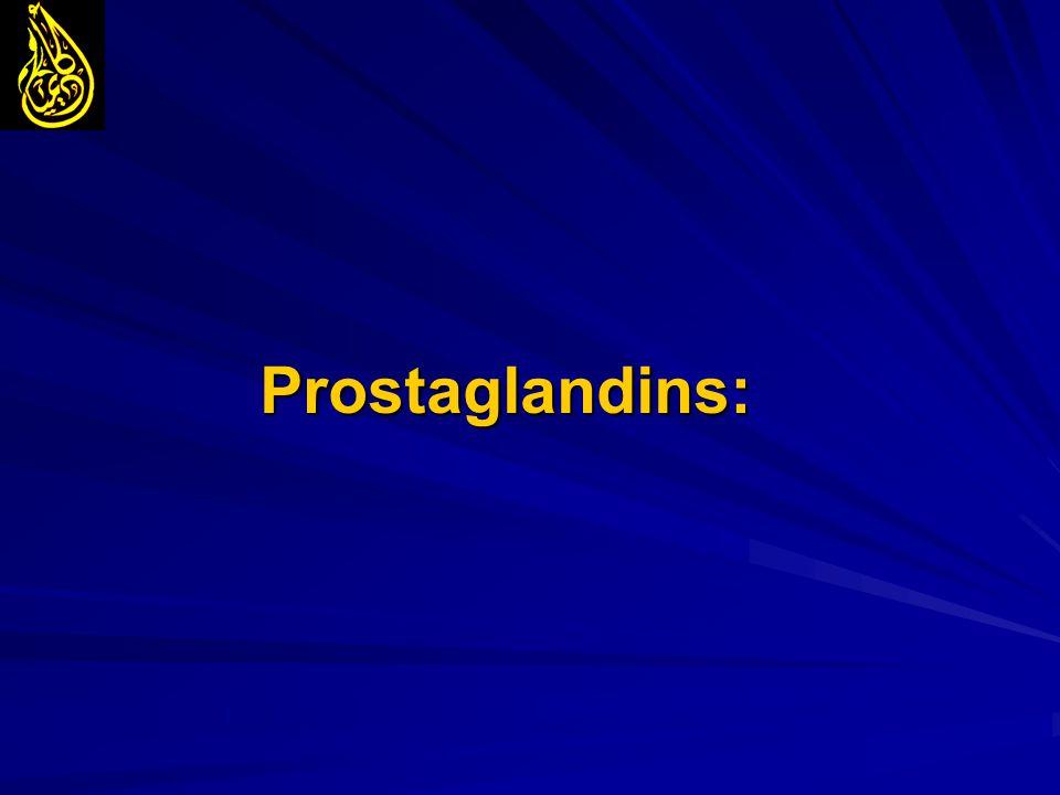 Prostaglandins: