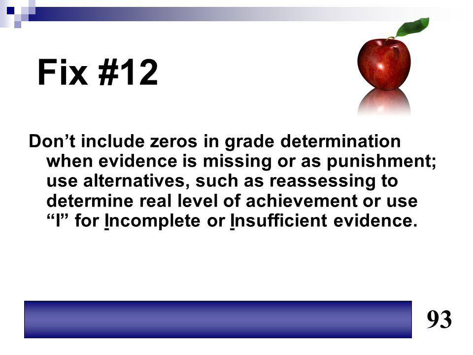 Fix #12