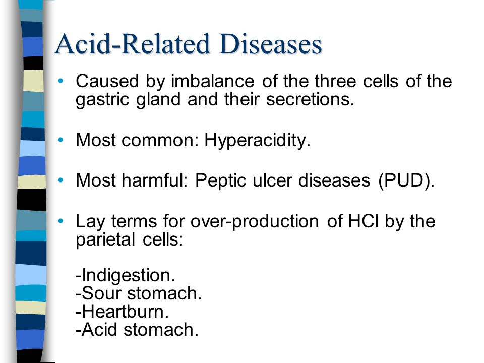 Acid-Related Diseases