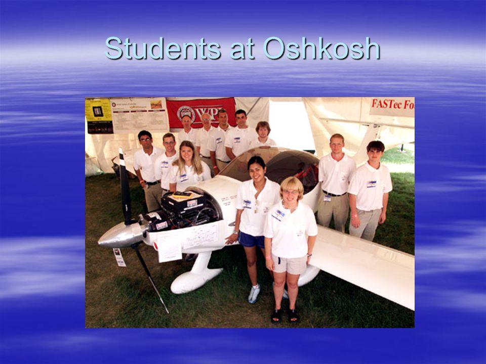 Students at Oshkosh