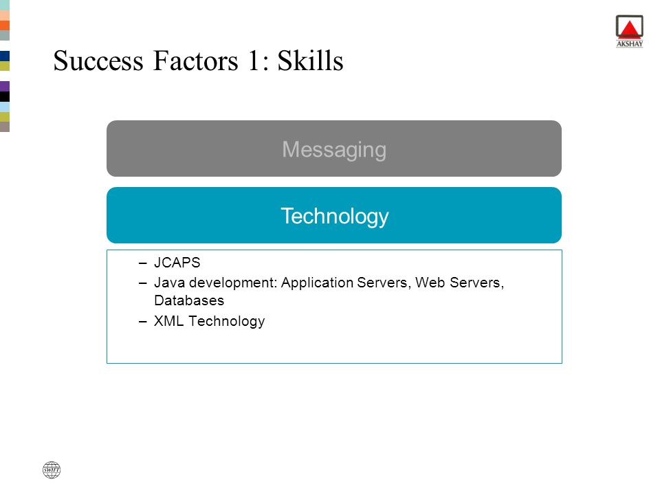 Success Factors 1: Skills