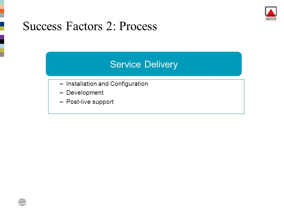 Success Factors 2: Process
