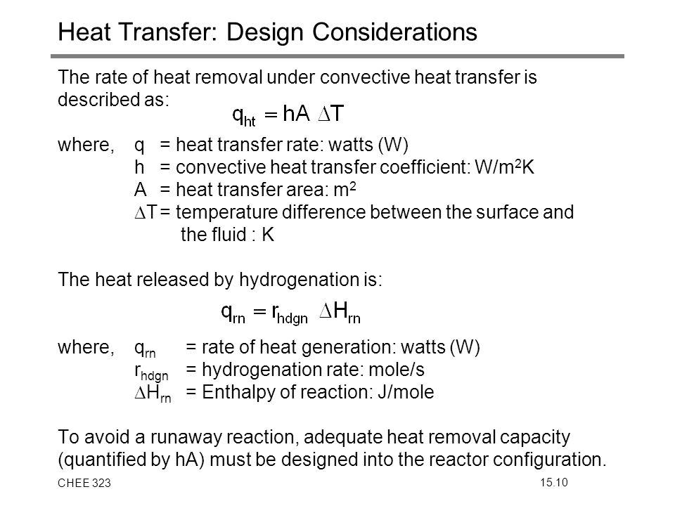 Heat Transfer: Design Considerations