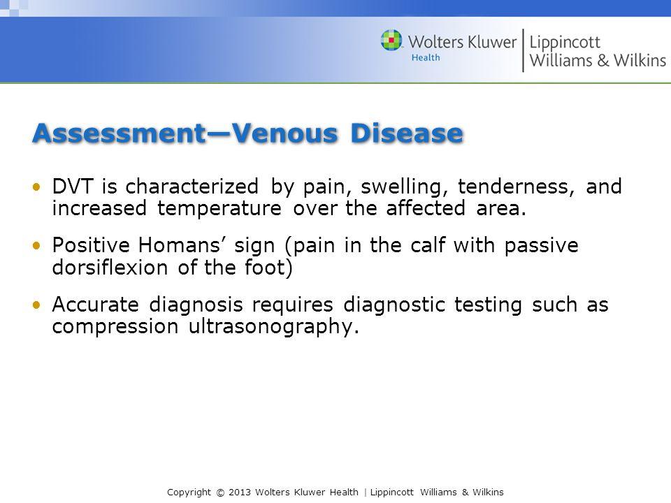 Assessment—Venous Disease