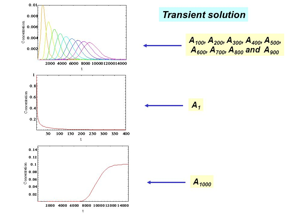 Transient solution A100, A200, A300, A400, A500,