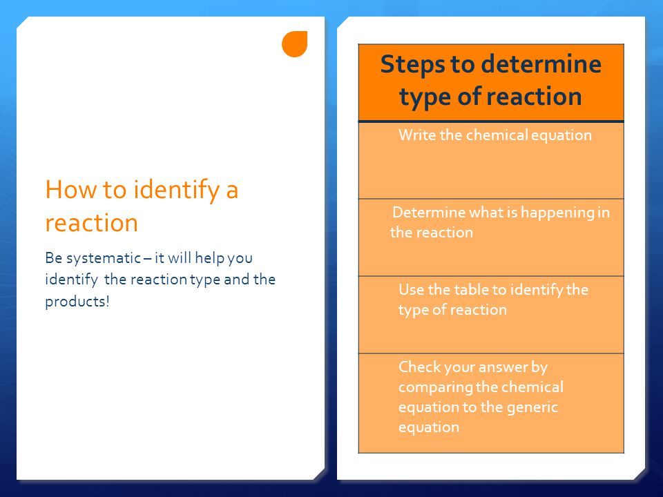 How to write a formation reaction