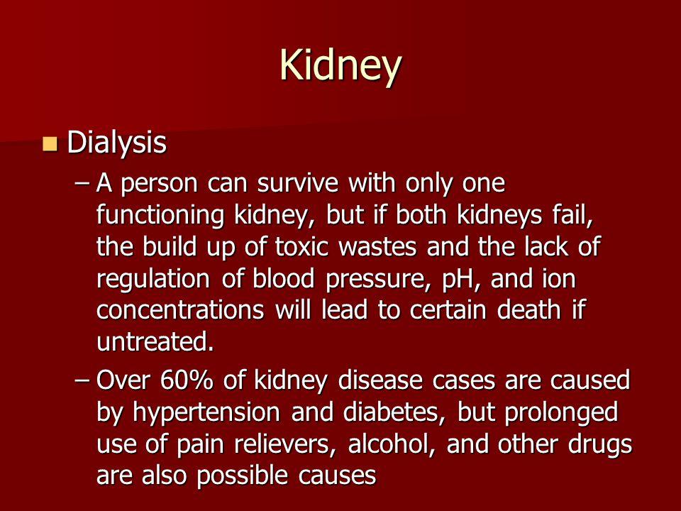 Kidney Dialysis.