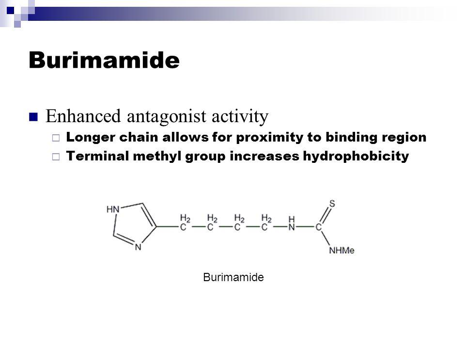 Burimamide Enhanced antagonist activity