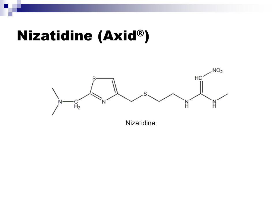 Nizatidine (Axid®) Nizatidine