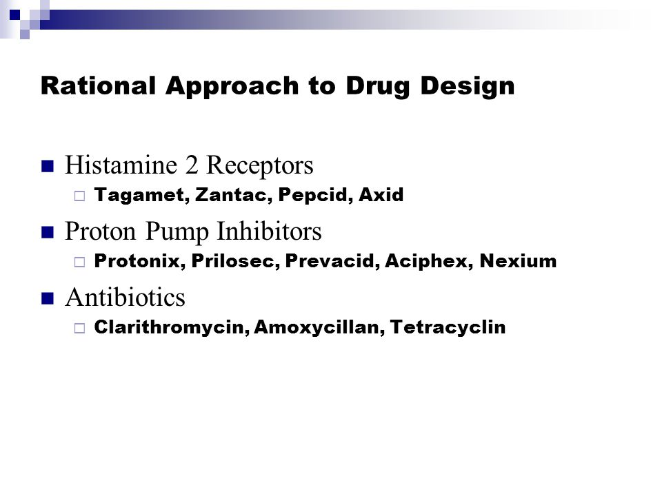 Rational Approach to Drug Design