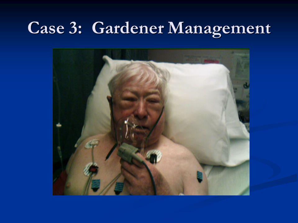 Case 3: Gardener Management