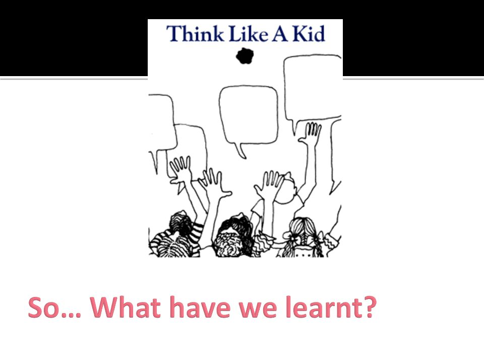 So… What have we learnt