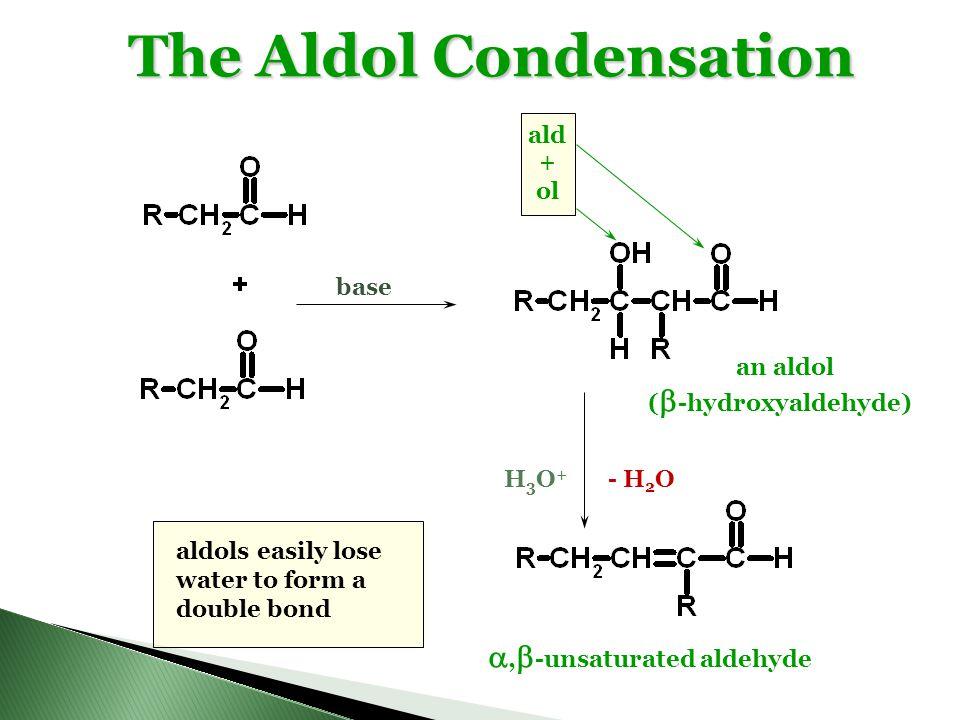The Aldol Condensation