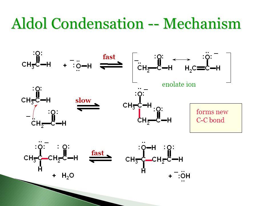 Aldol Condensation -- Mechanism