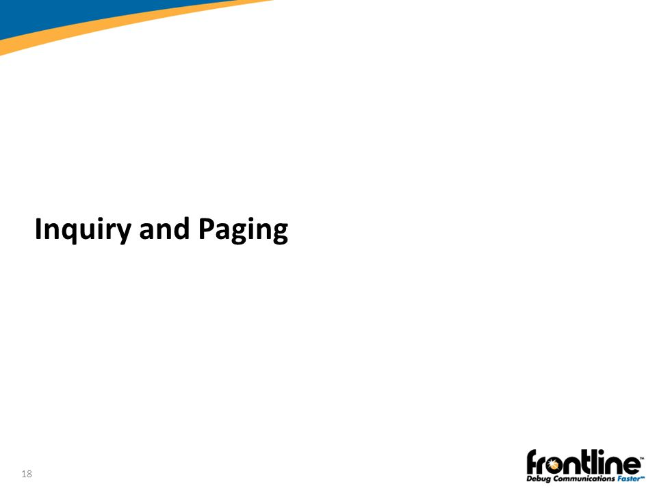 Inquiry and Paging Introduction to Bluetooth®