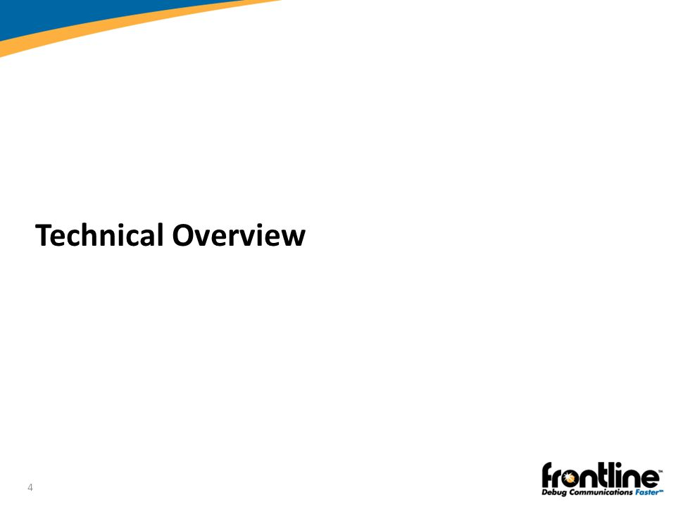 Technical Overview Introduction to Bluetooth®