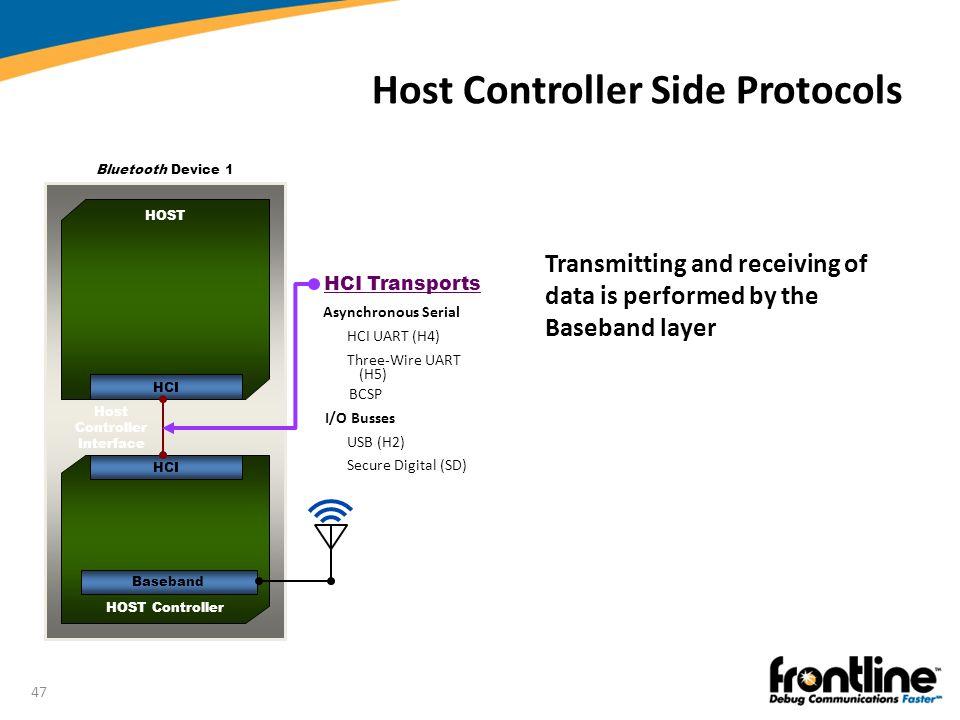 Host Controller Side Protocols