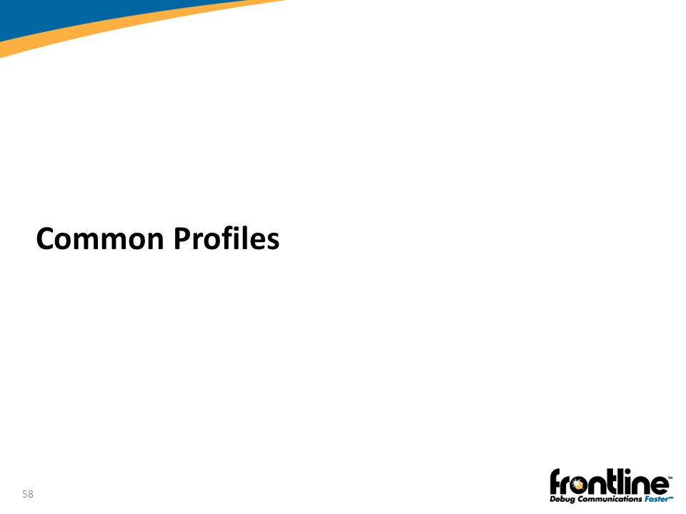 Common Profiles Introduction to Bluetooth®