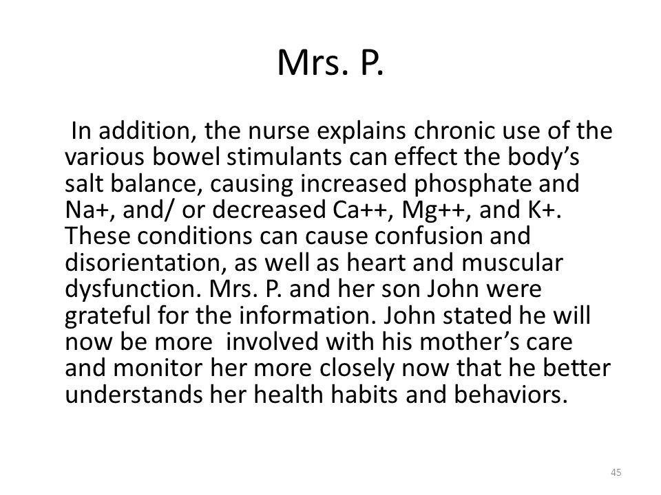 Mrs. P.
