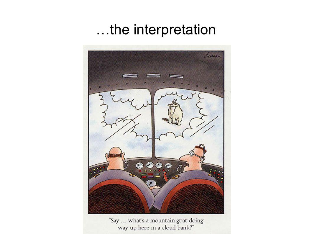 …the interpretation 10