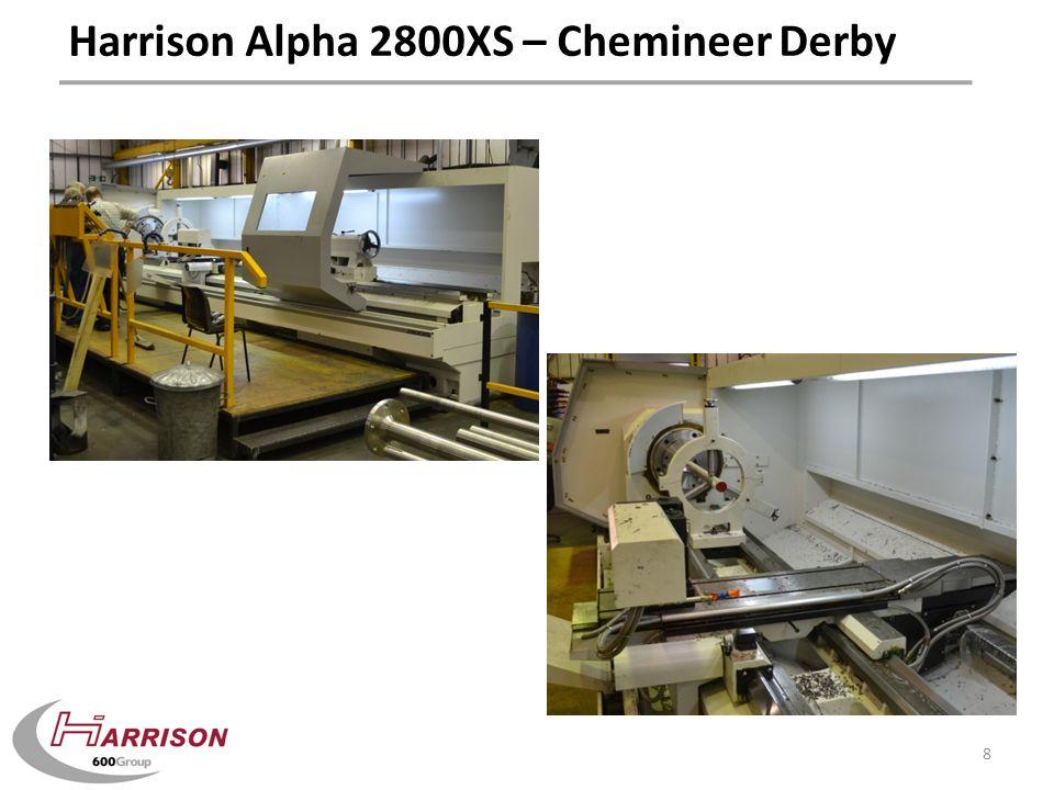 Harrison Alpha 2800XS – Chemineer Derby