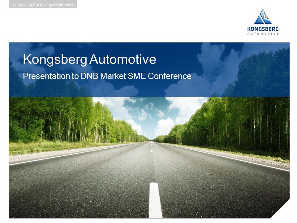 Kongsberg Automotive Presentation to DNB Market SME Conference