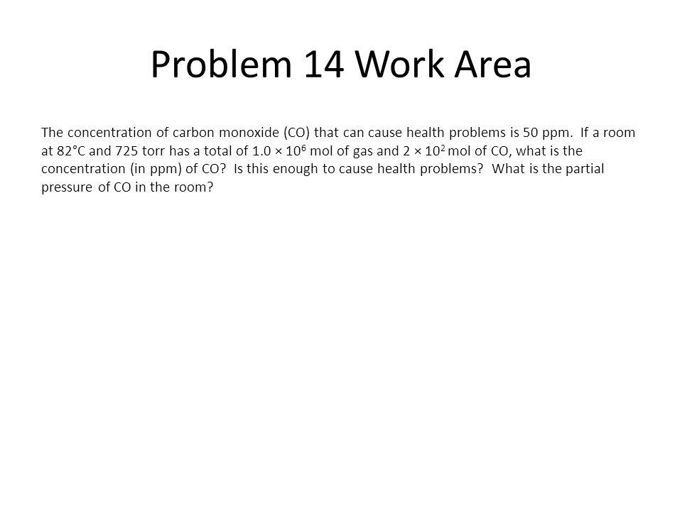 Problem 14 Work Area