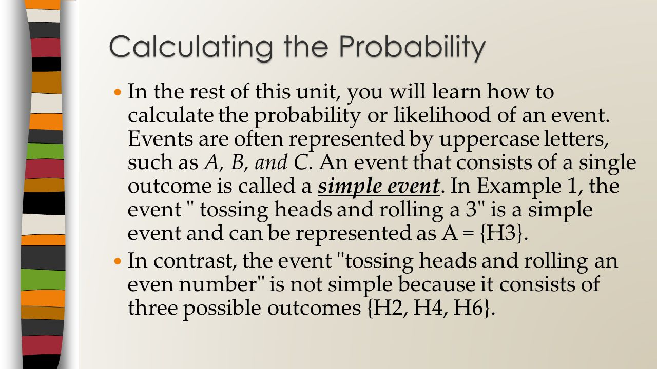 Calculating the Probability