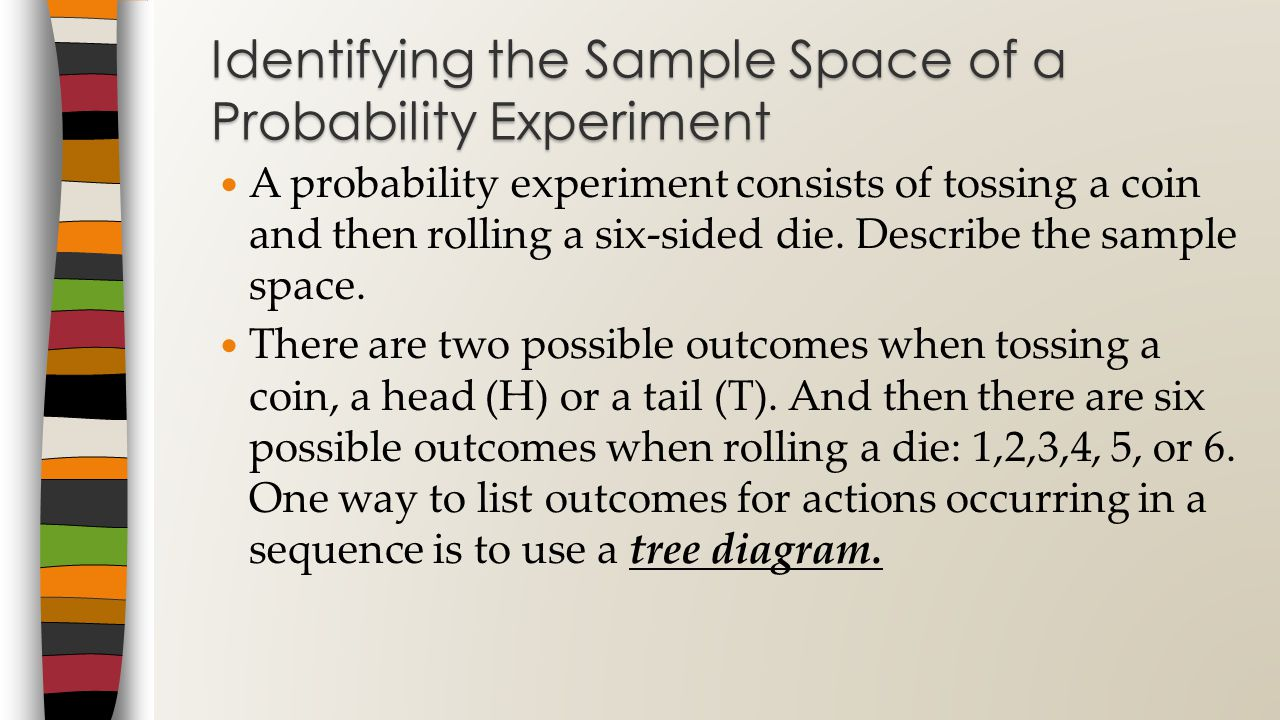 Identifying the Sample Space of a Probability Experiment