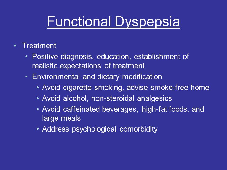 Functional Dyspepsia Treatment