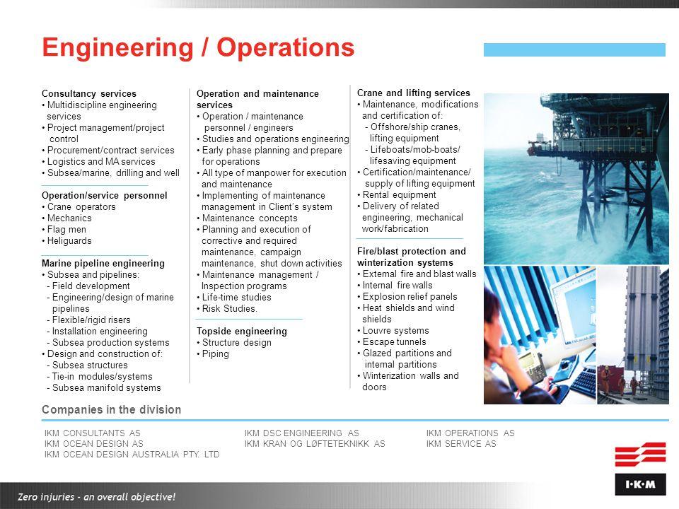 Engineering / Operations