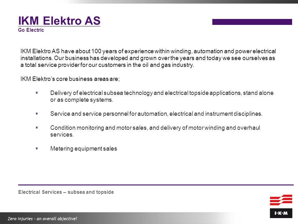 IKM Elektro AS Go Electric.