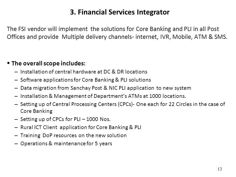 3. Financial Services Integrator
