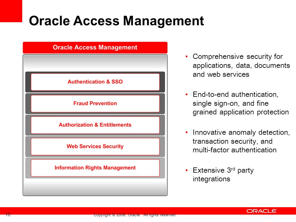 Oracle Access Management