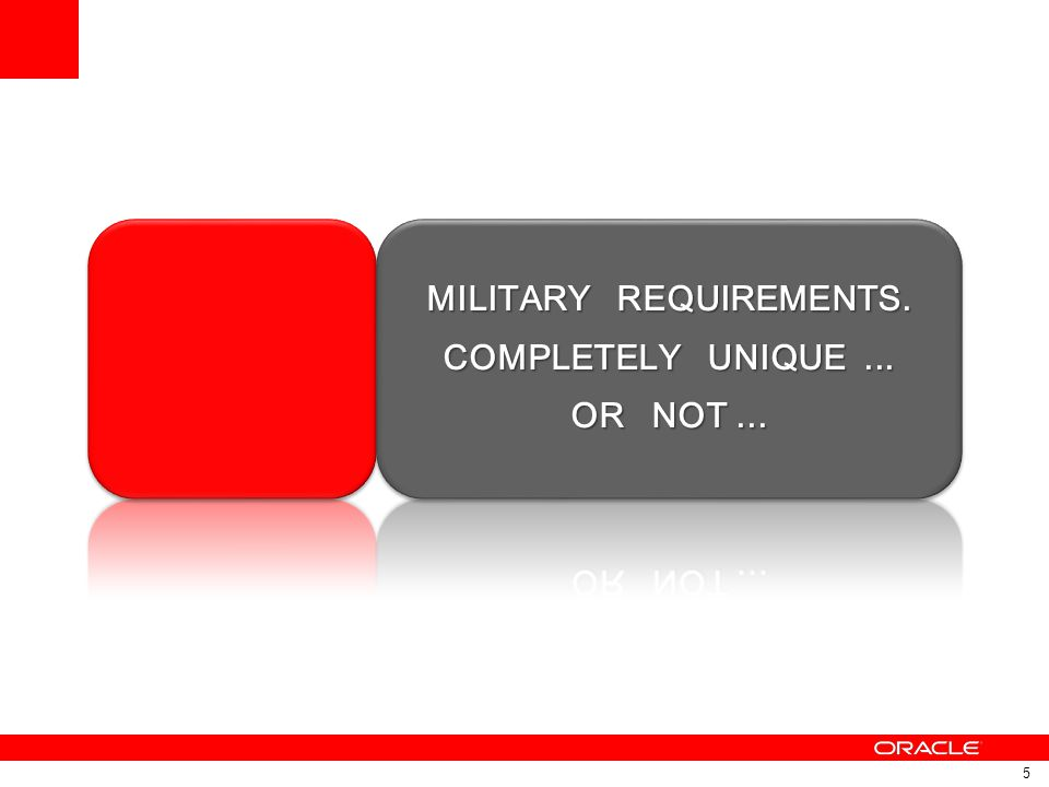 MILITARY REQUIREMENTS.