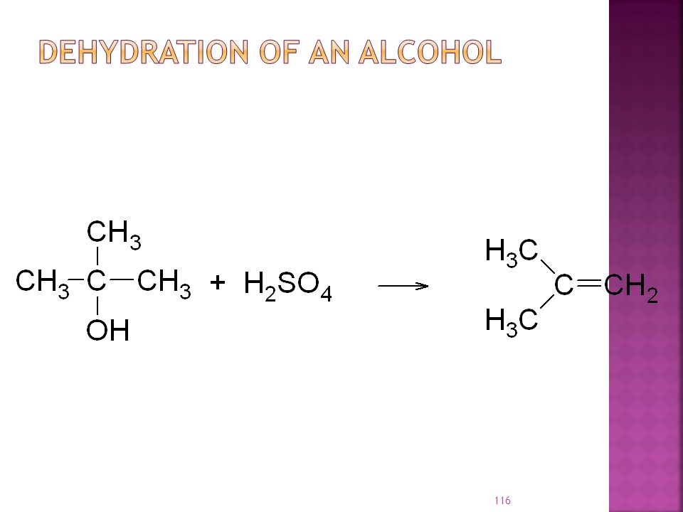 Dehydration of an Alcohol