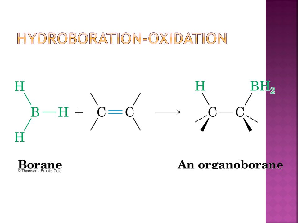 Hydroboration-Oxidation