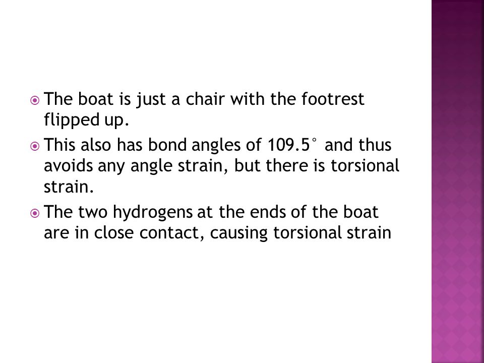 The boat is just a chair with the footrest flipped up.