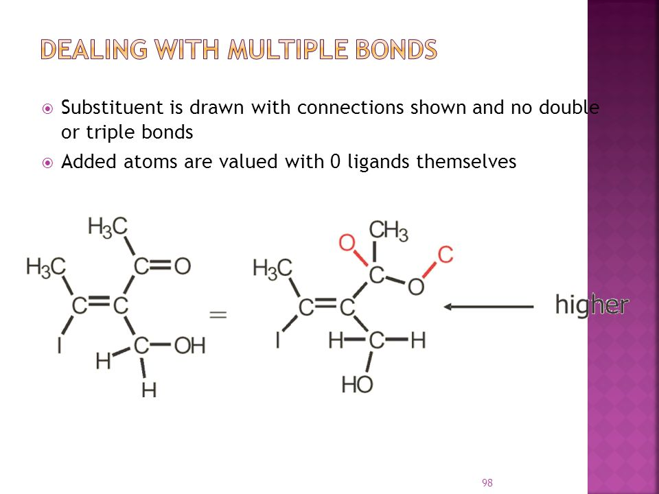 Dealing With Multiple Bonds