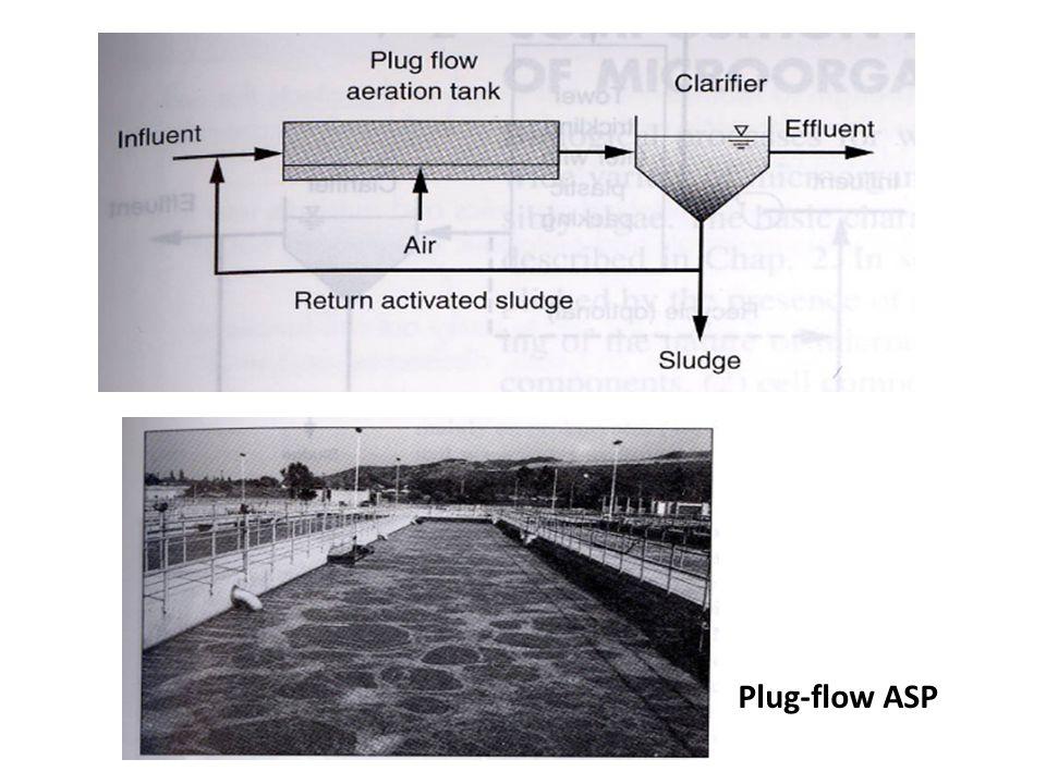 Plug-flow ASP