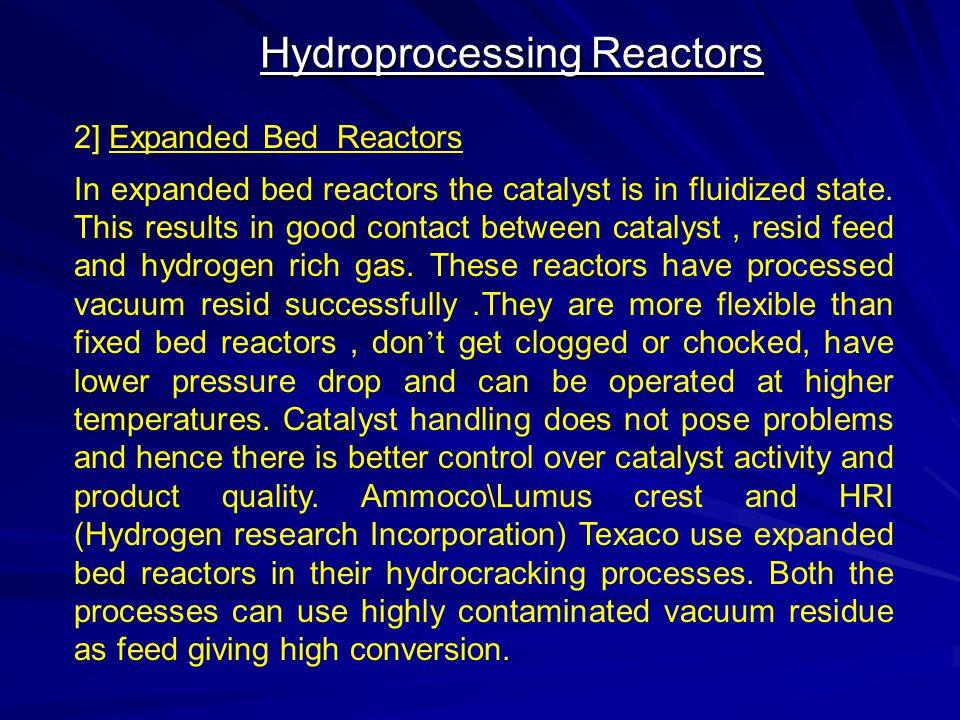 Hydroprocessing Reactors