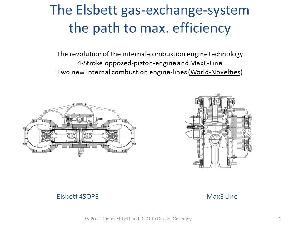 The Elsbett gas-exchange-system the path to max. efficiency