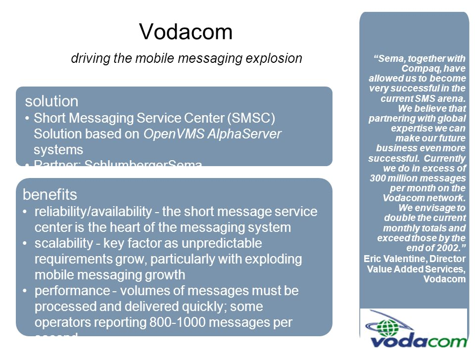 driving the mobile messaging explosion