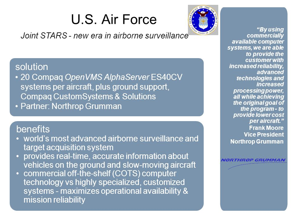 Joint STARS - new era in airborne surveillance