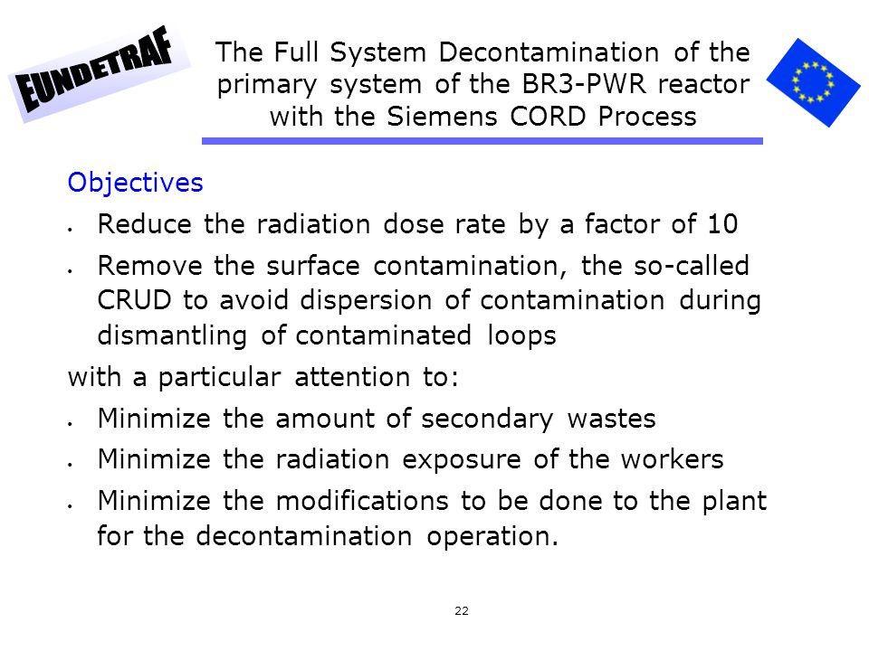 The Full System Decontamination of the primary system of the BR3-PWR reactor with the Siemens CORD Process