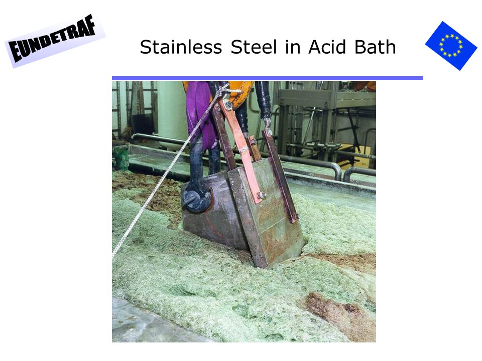 Stainless Steel in Acid Bath